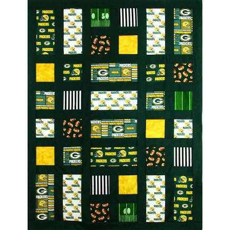 Packer Relish Quilt Kit | green bay quilts | Pinterest | Packers ... : green bay packers quilt - Adamdwight.com