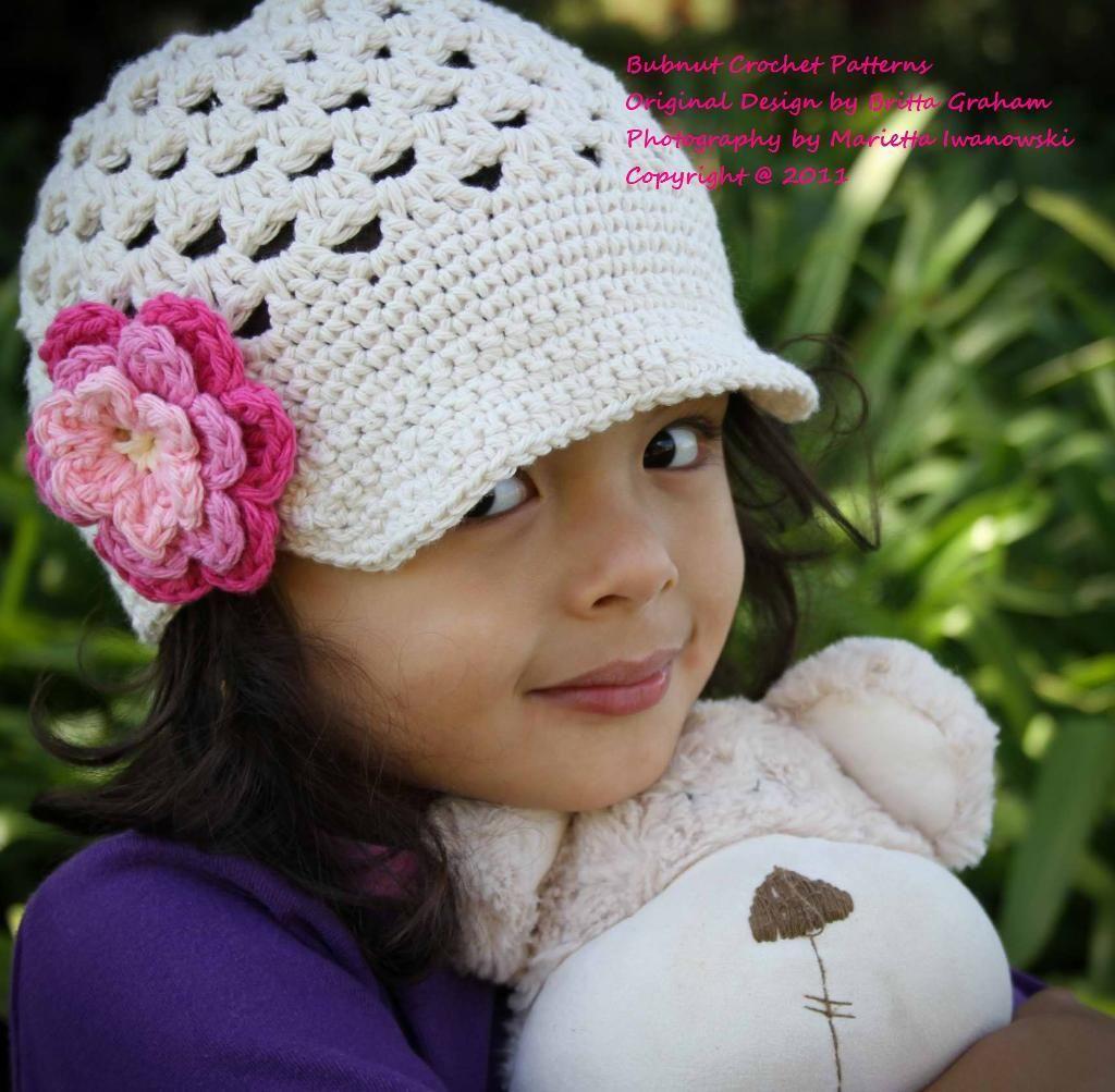 Open stitch newsboy hat stitch crochet and girls crochet hat pattern open stitch newsboy crochet pattern six sizes bankloansurffo Images