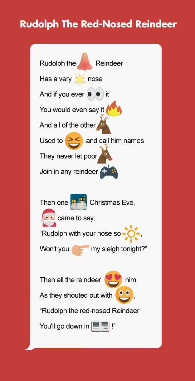 9 Classic Holiday Stories As Told By Emojis