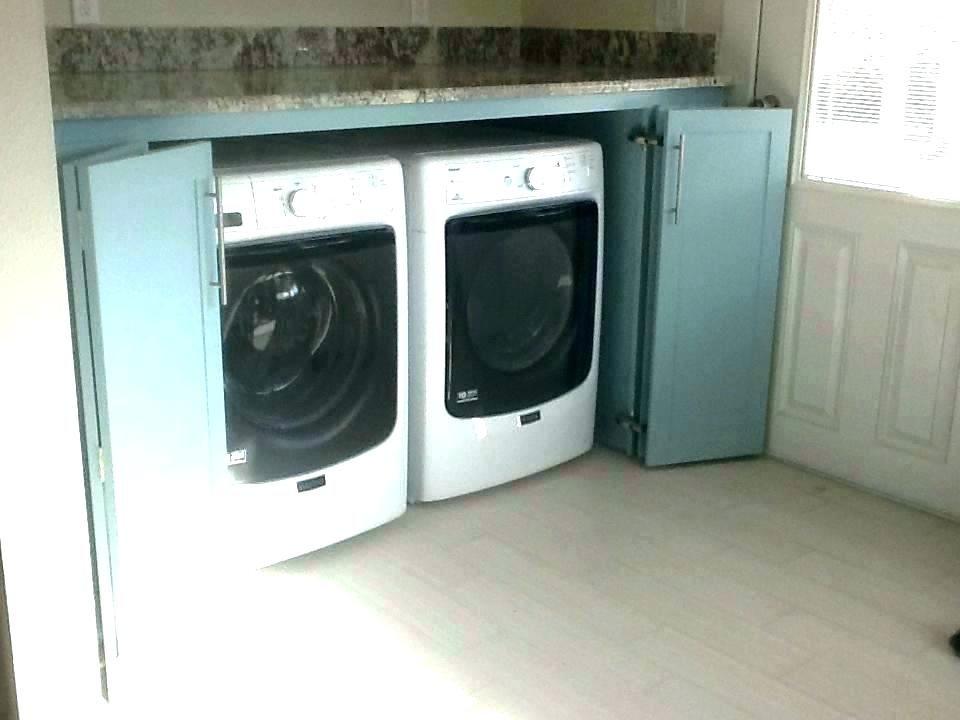 Cabinet For Washer Dryer Storage