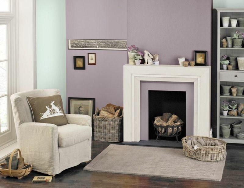 Wohnraumgestaltung mit farben lavendel und minzgr n im wohnzimmer i like pinterest house - Wohnraumgestaltung farben ...