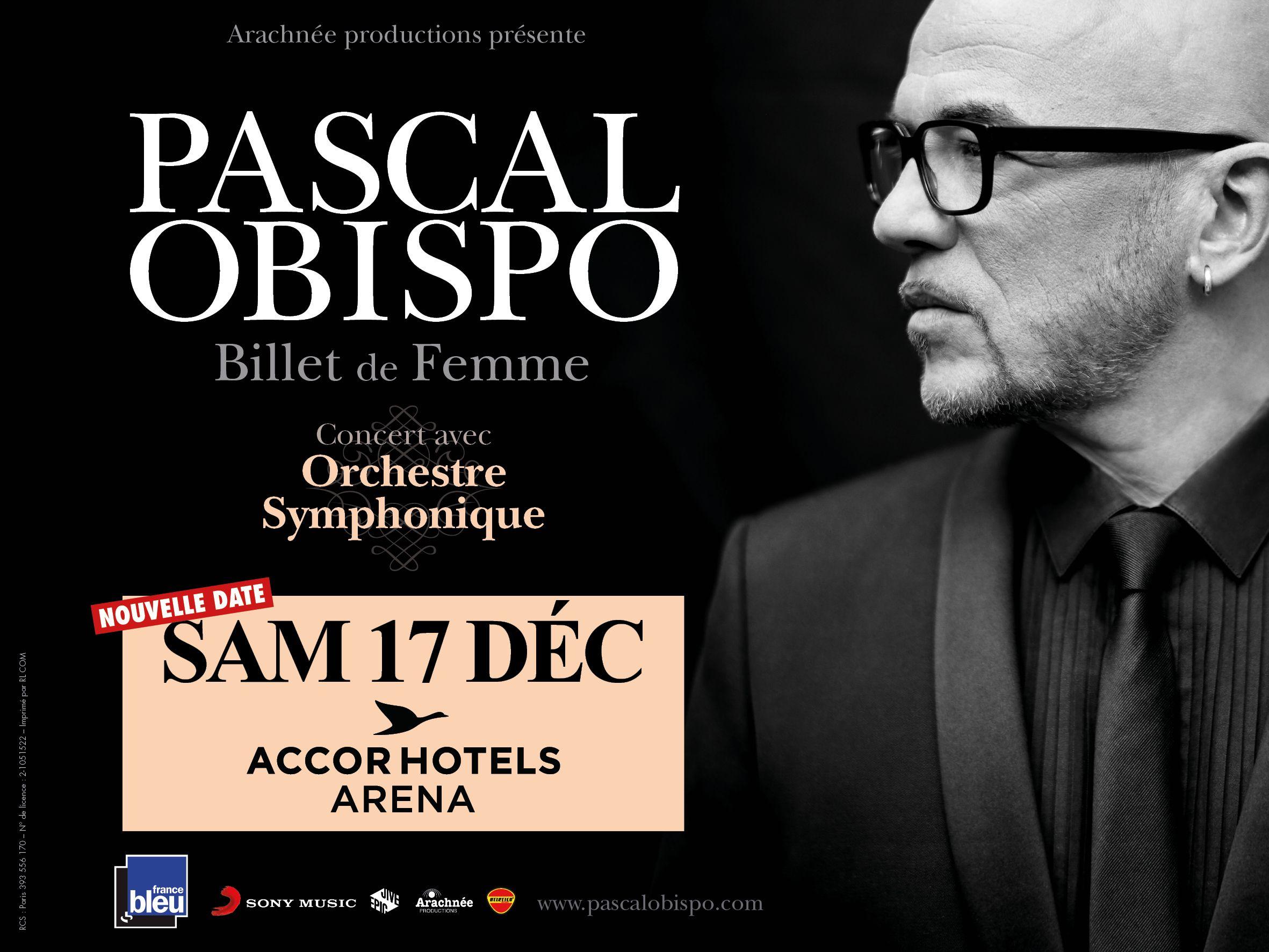 Pascal Obispo - Accor Hotels Arena