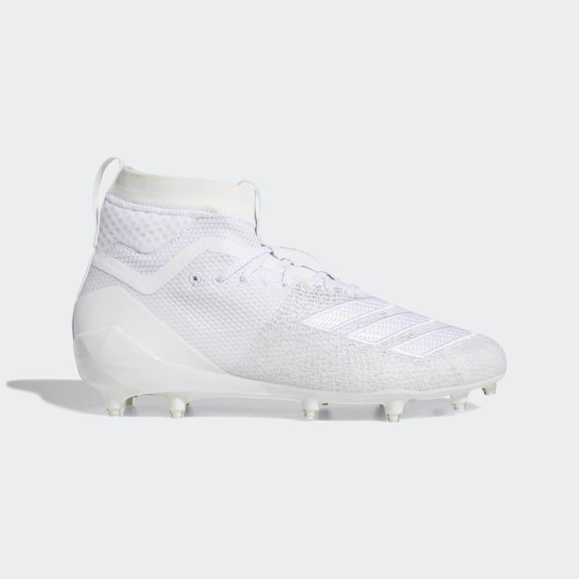 Adidas Adizero 8 0 Sk Cleats White Adidas Us Cleats Mens Football Cleats Football Cleats
