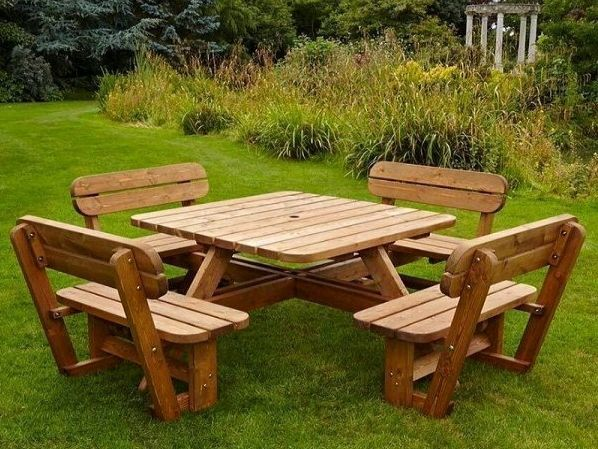 Picnic Table Bench Garden Set Http Www Ebay Co Uk Itm 331804560397 Outdoor Furniture Design Picnic Table Bench Diy Projects Outdoor Furniture