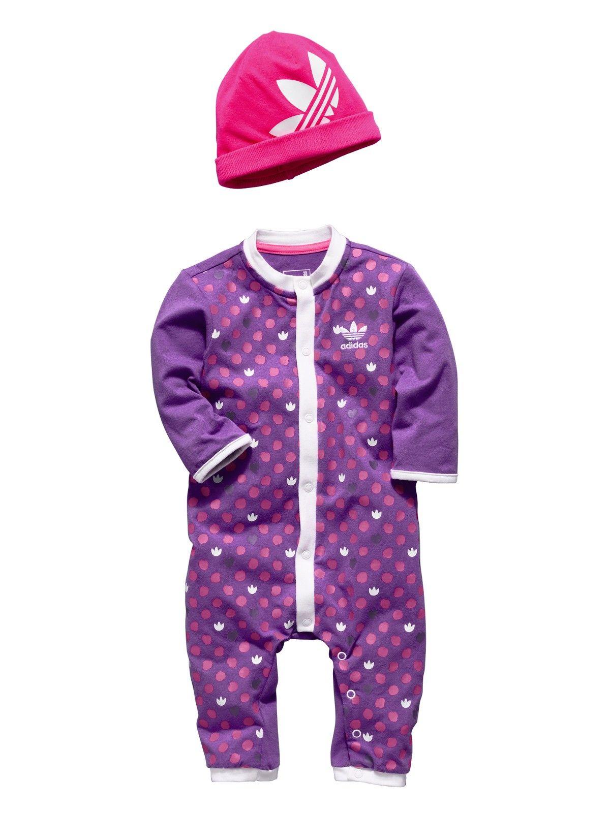 adidas Originals Romper Suit (hat FREE!) Very.co.uk 07731b1db6