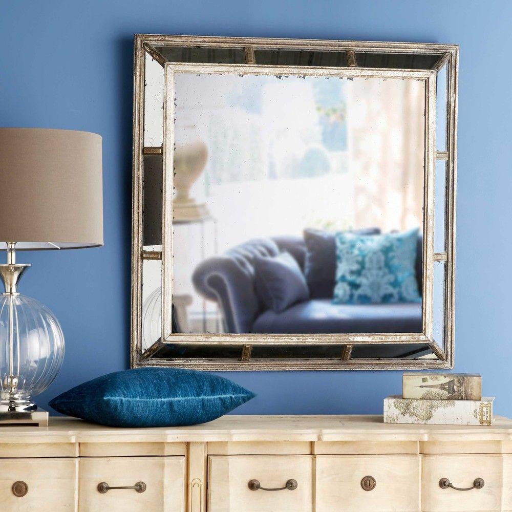 Espejo De Metal Con Efecto Porches Pinterest Espejo # Muebles Efecto Espejo