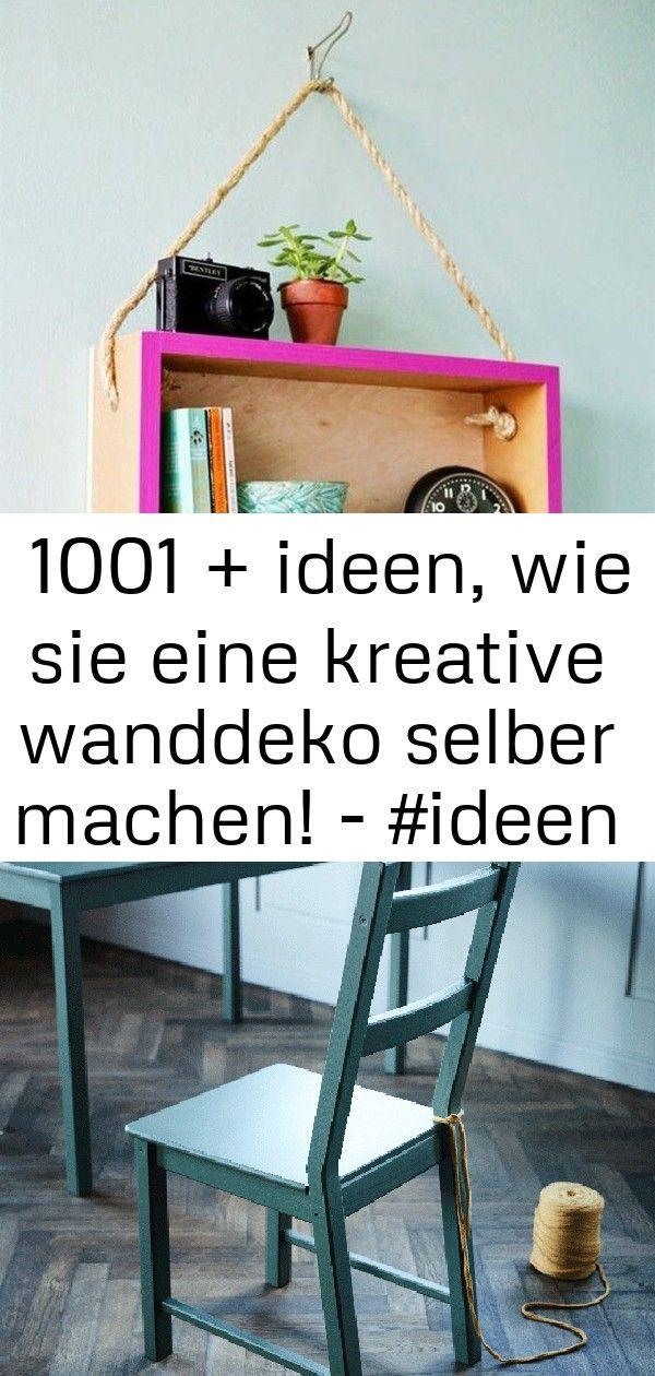 ▷ 1001 + ideen, wie sie eine kreative wanddeko selber machen! - #ideen #kreative #machen #selber # 3 #wanddekoselbermachen
