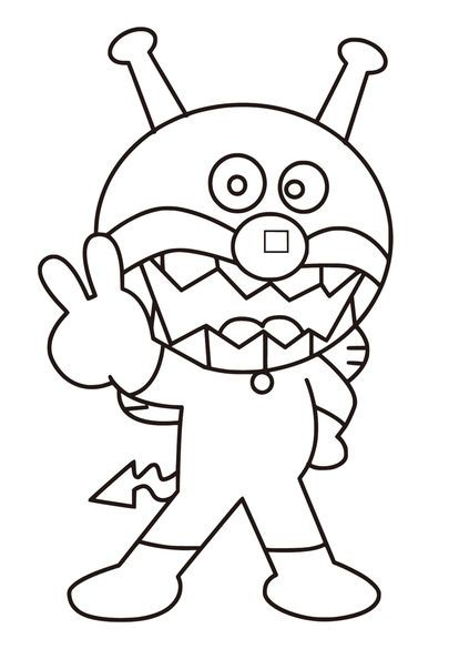 Pin By ドキンちゃん On アンパンマン ぬりえ Coloring Pages Coloring Pages For Kids Doraemon