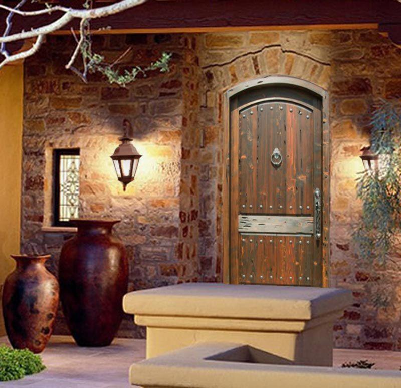 Fine Art Entrance Door - Chateau de Sedan France