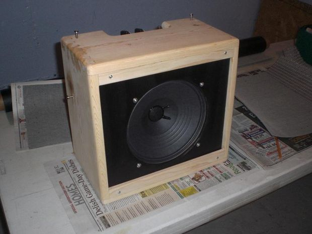 Guitar Cabinet Speaker Baffle : making a speaker baffle for a guitar amplifier speaker cabinet build homemade speakers ~ Russianpoet.info Haus und Dekorationen