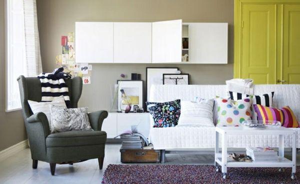 Wohnzimmer Farbvorschläge \u2013 schicke Farbgestaltung Wohnzimmer 2019