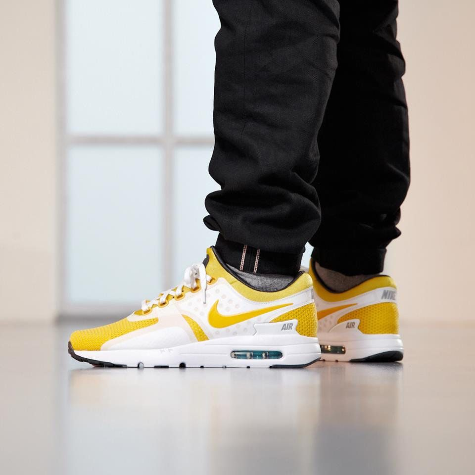wholesale dealer 8cbb0 b6d10 The Nike Air Max Zero  White Yellow  is dropping globally on AirMaxDay  tomorrow. Links   mrsnk.com amzwy