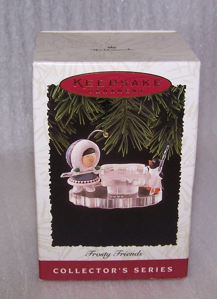 Hallmark Frosty Friends #17 1996 Mint in Box with Tag 1996 Polar Pool Game