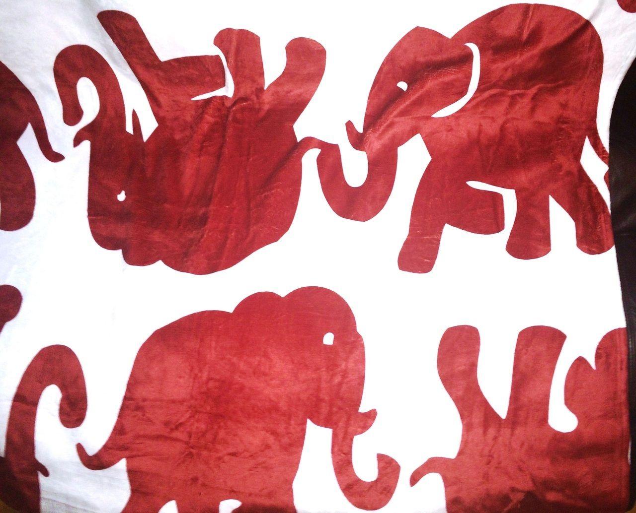 Designs By Dee S Hands Elephant Fleece Blanket Delta