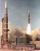 Pershing Missile #2 test firing from Green River Utah