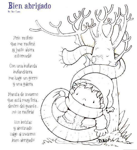 Poemas Y Rimas Del Invierno Para Niños Poemas De Invierno Invierno Preescolar Poesia Invierno