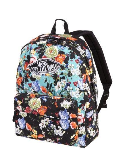 beb1214ae4f9f VANS Backpack Flower