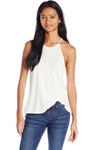 Billabong Junior's To The Point Knit Cami Tank, Cool Whip, X-Small ❤