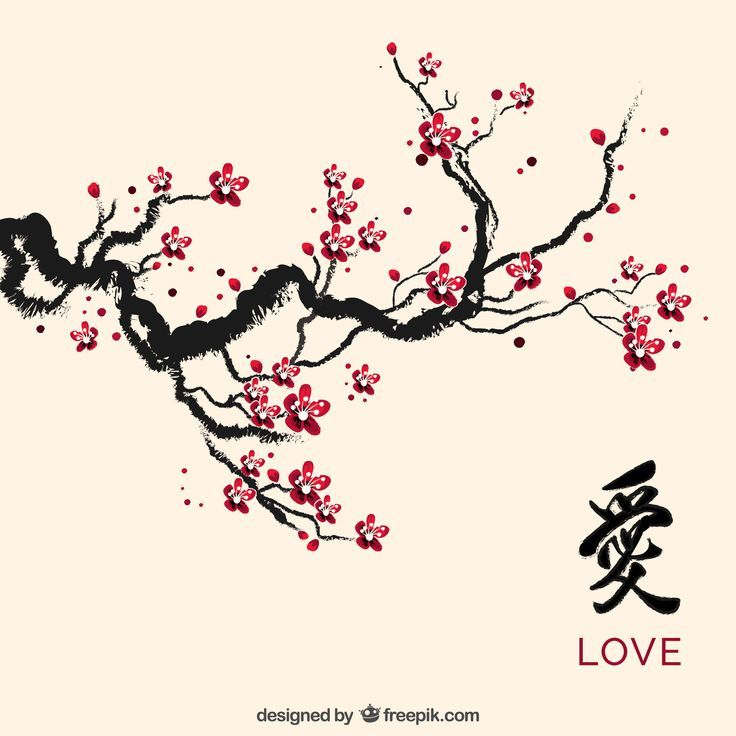 Image Result For Unique Cherry Trees Cherry Blossom Drawing Cherry Blossom Art Blossoms Art