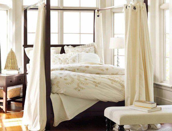 Betthimmel   Luxus Und Stil Ins Schlafzimmer Bringen. Das Schlafzimmer  Behaglicher Und Komfortabler Zu Gestalten, Kann Nicht Besonders Viel Mühe  Kosten, ...