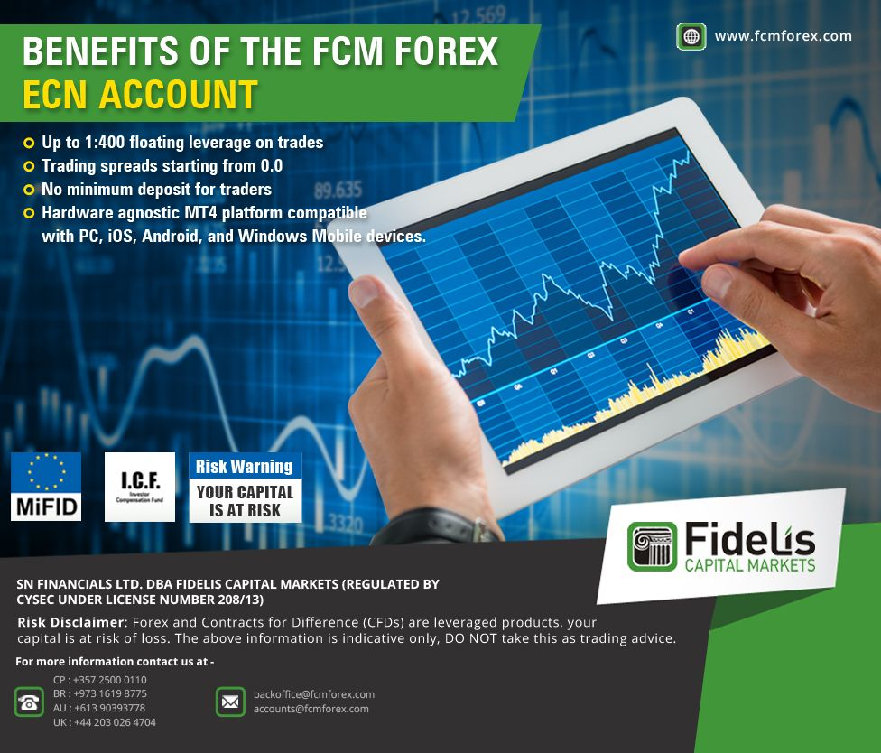 Benefits Of The Fcm Forex Ecn Account 1 Up To 1 400 Floating