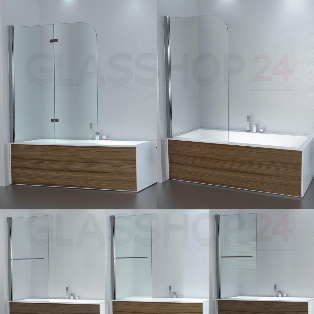 details zu badewannen duschabtrennung badewannenaufsatz faltwand glas duschwand badewanne in. Black Bedroom Furniture Sets. Home Design Ideas