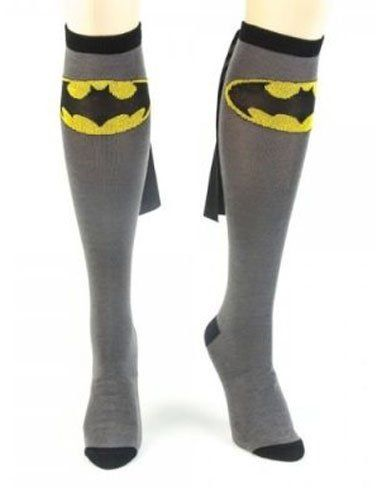 ee1d7015371 Amazon.com  Batman Black Adult Knee High Cape Sock  Clothing Batman Cape