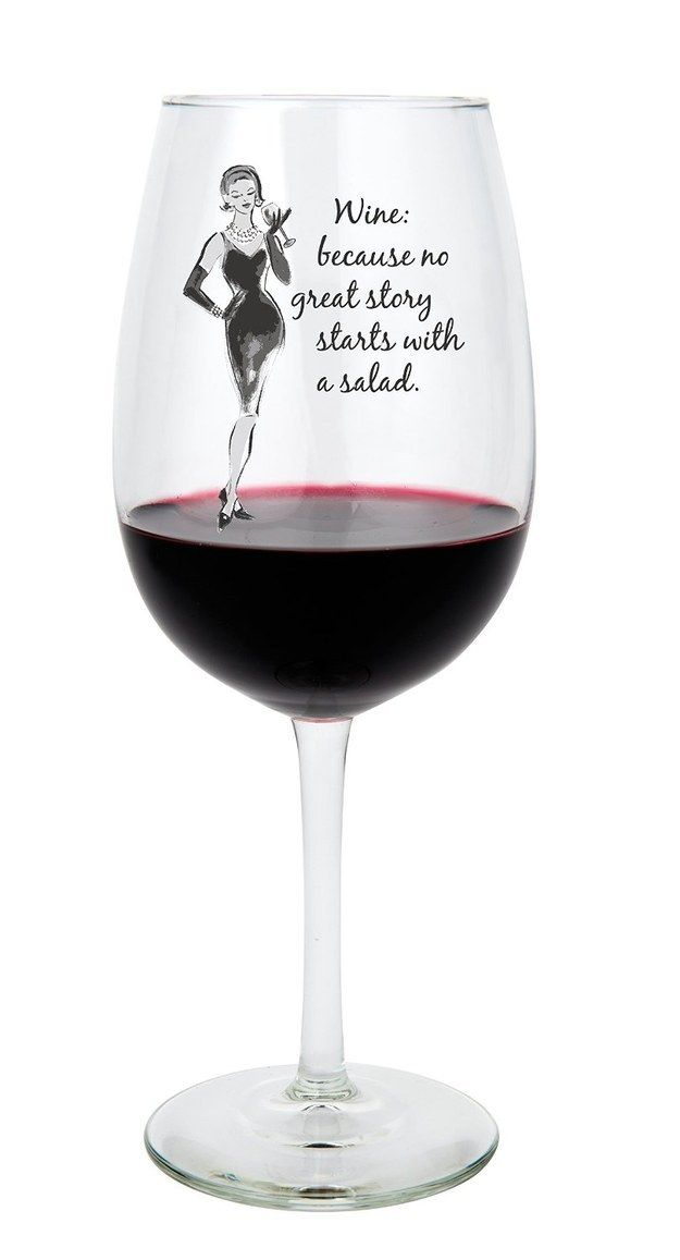 When You've Had A Rough Day, These Wine Glasses Understand - 16 Pics