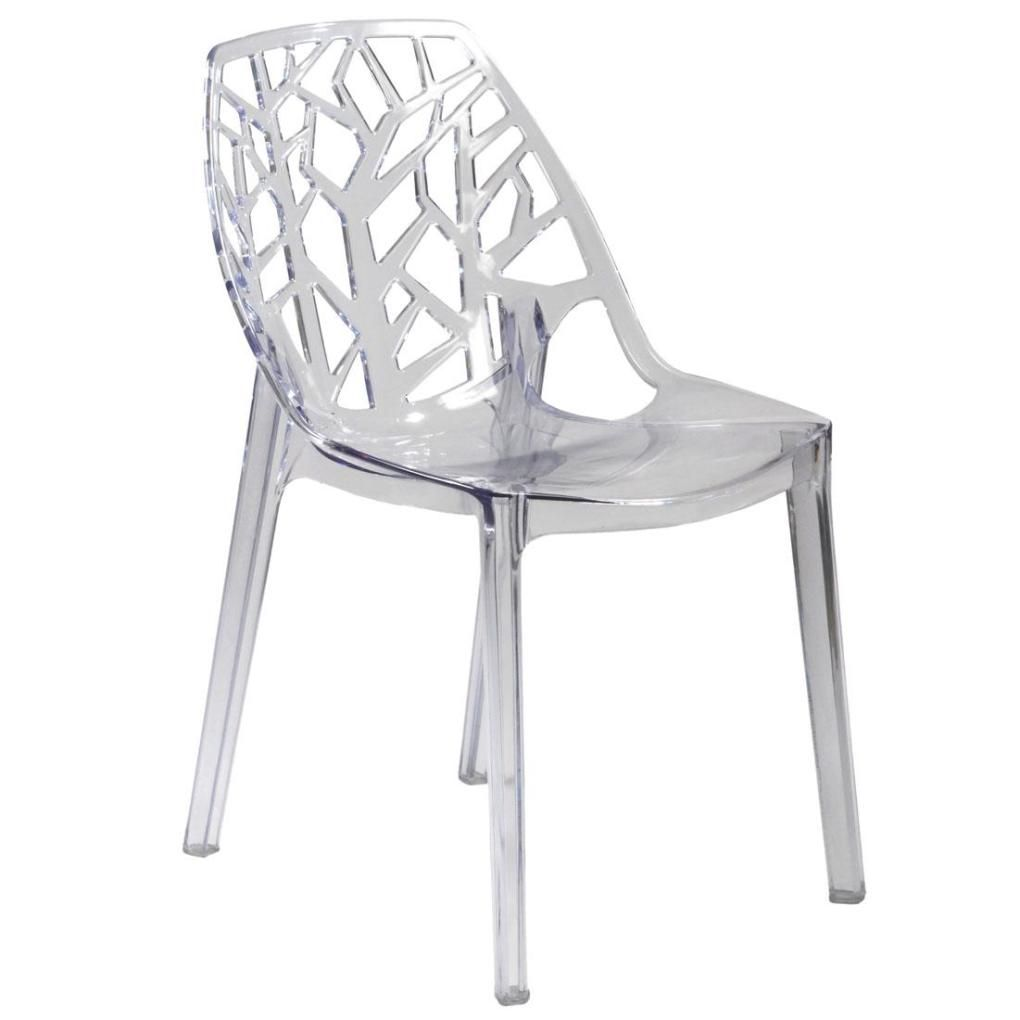 Acrylic clear chairs - Clear Chairs Amy Chair Clear Polycarbonate Casual Kitchen Chairs