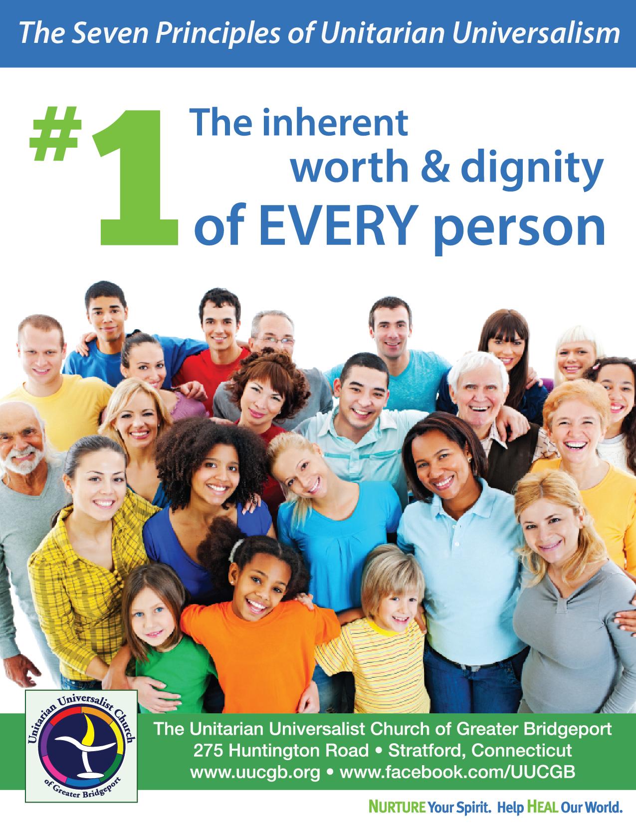 First principle of Unitarian Universalism Unitarian
