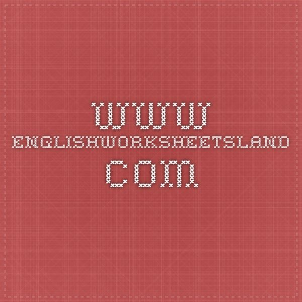Www Englishworksheetsland Excellent Resource For Common Core Skills Worksheets
