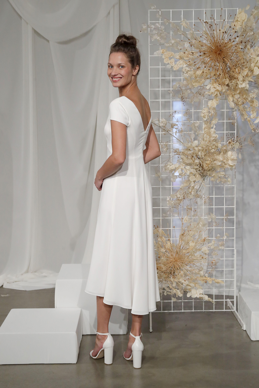 Lw155 By Amsale Little White Dress Dresses Little White Dresses White Dress