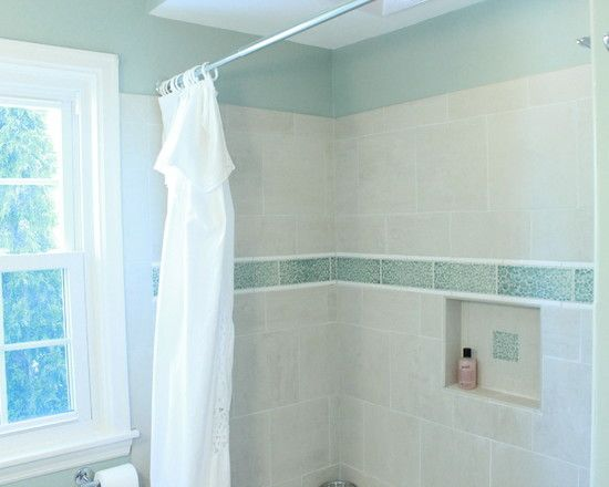 White Shower Tile Design Ideas simple bathroom decoration but really impressive: white shower