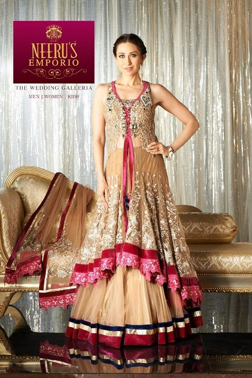 Fashion: Karisma Kapoors at New Neerus Emporio Ads 2013