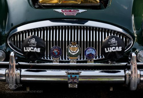 Badged Austin Healey by iconnally  IFTTT 500px