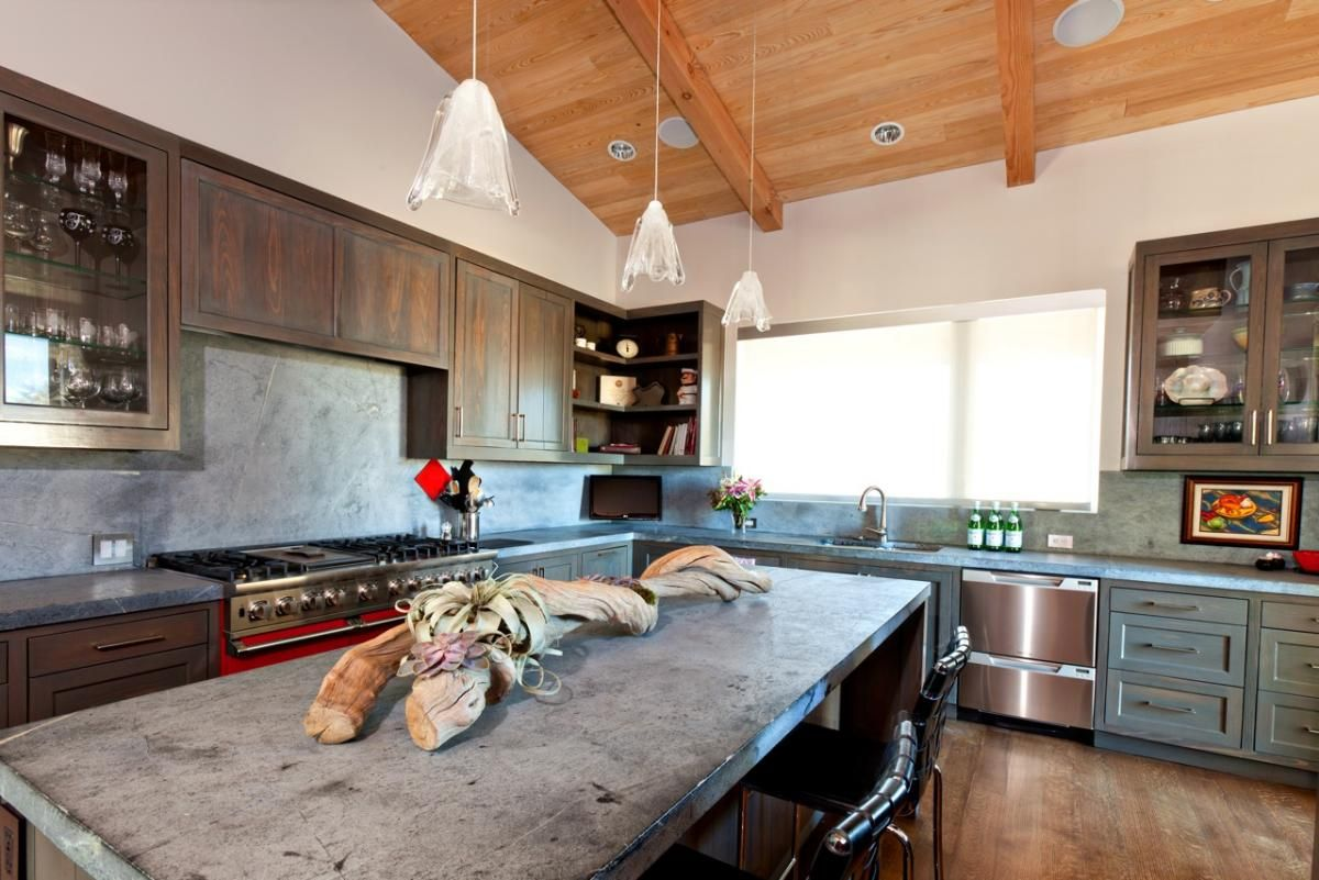 A Guide To Concrete Kitchen Countertops Remodeling 101: #cultivateit Frisco Residence (Cultivate.com)