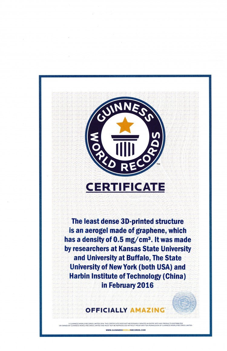 Record Holder Guinness World Records Names Engineers Graphene Inside Guinness World Record Certif In 2020 Certificate Templates Guinness World Records World Records