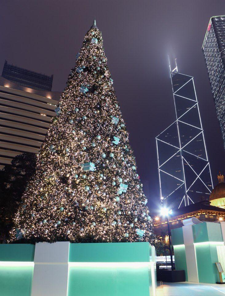 Tiffany Christmas Tree Hong Kong Christmas Lights Christmas Tree Christmas In America