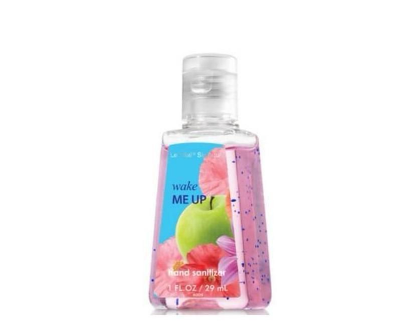 Wake Me Up Hand Sanitizer 1 Oz Travel Size Sweet Pea 48