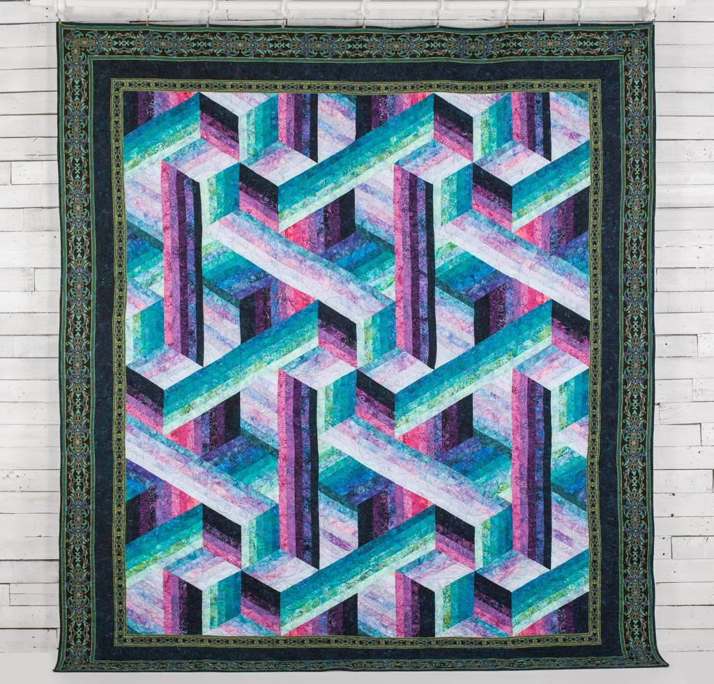 Rjr Malam Batiks Catwalk By Jinny Beyer Quilt Quilting Kit Includes Fabric Pattern Quilts Quilt Kit Quilting Projects