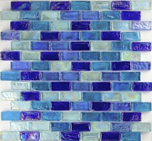 Sheet Size 11 7 8 X 11 7 8 Tile Size 3 4 X 1 5 8 Tiles Per Sheet 98 Tile Thickness 1 4 Grout Joints 1 8 Glass Pool Tile Iridescent Tile Glass Pool