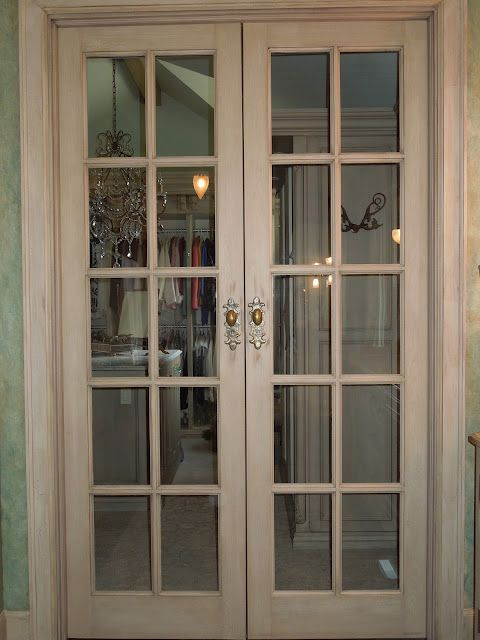 The French Tangerine French Doors For Bedroom Or Closet Even Better If They Were One Way Glass Doors French Doors Interior French Doors Internal Glass Doors