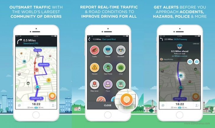 Update Terbaru Waze Bawa Antarmuka Lebih Sederhana