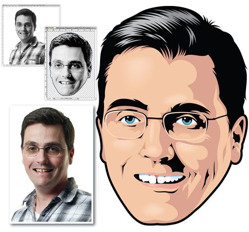 10 Outstanding Vector Portrait Tutorials Using Adobe Illustrator ...