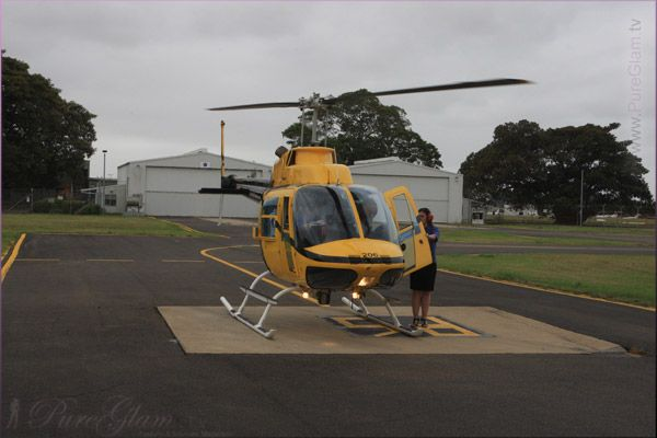 Helicopter ride (on a cloudy day) - Sydney, New South Wales, Australia