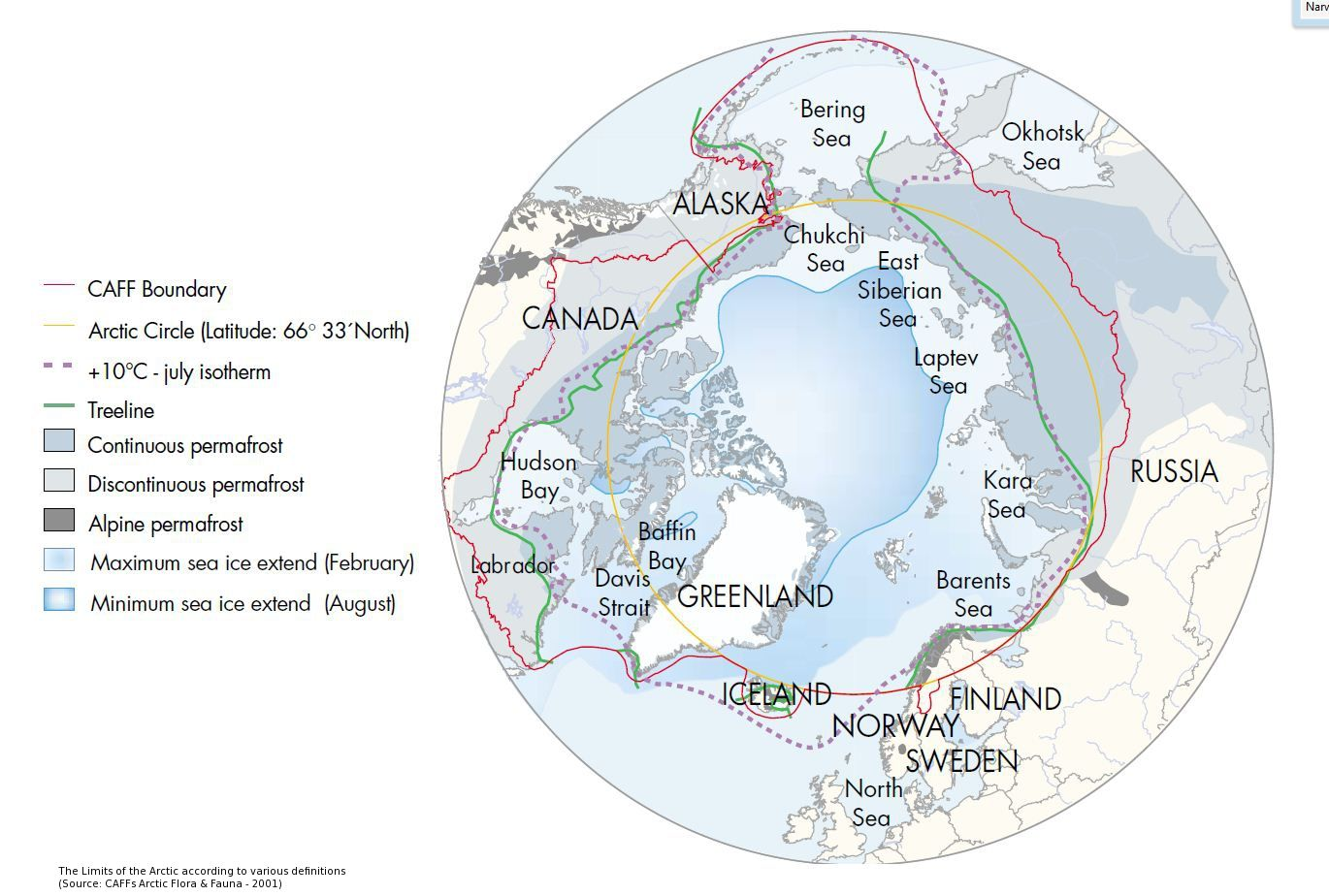 The Arctic And The Arctic Circle Learningarcticbiology Arctic Circle Arctic Greenland