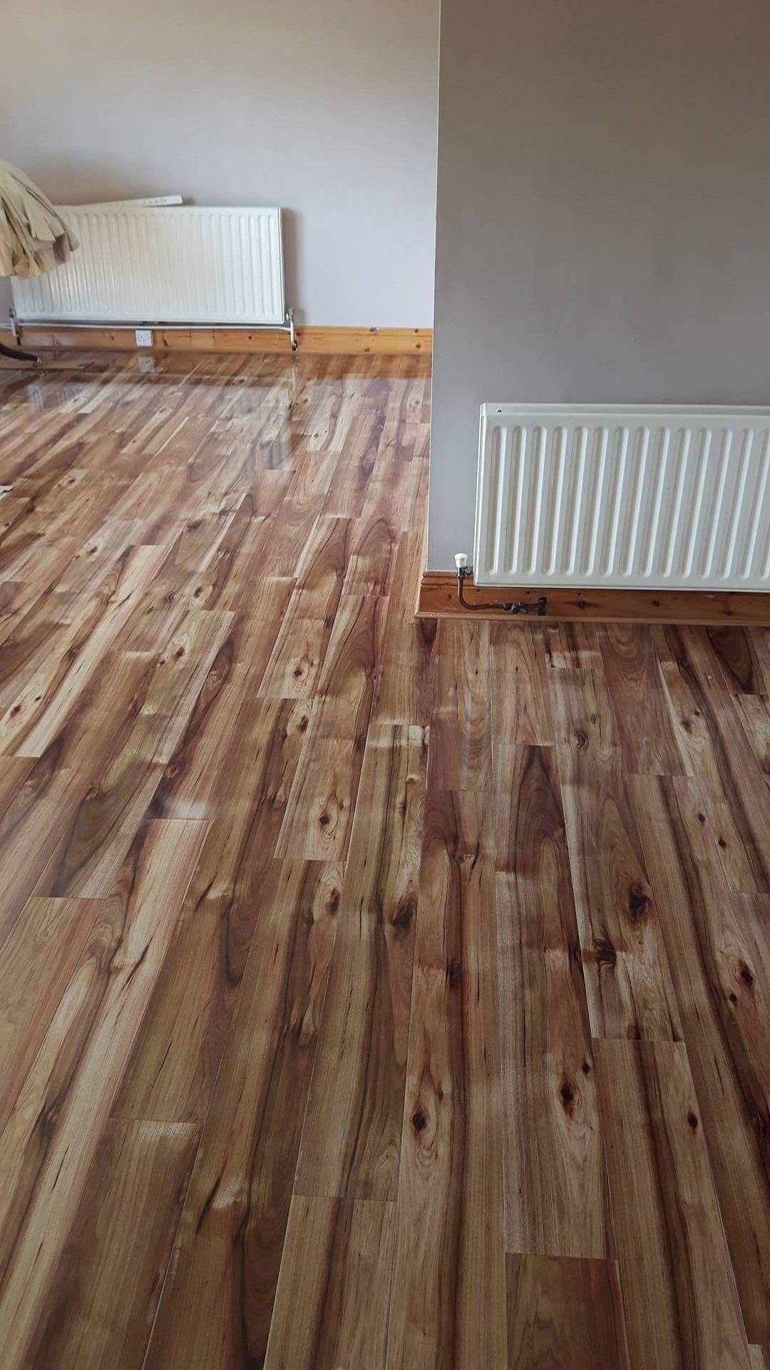 Hickory gloss flooring by Murphy Larkin Parketta