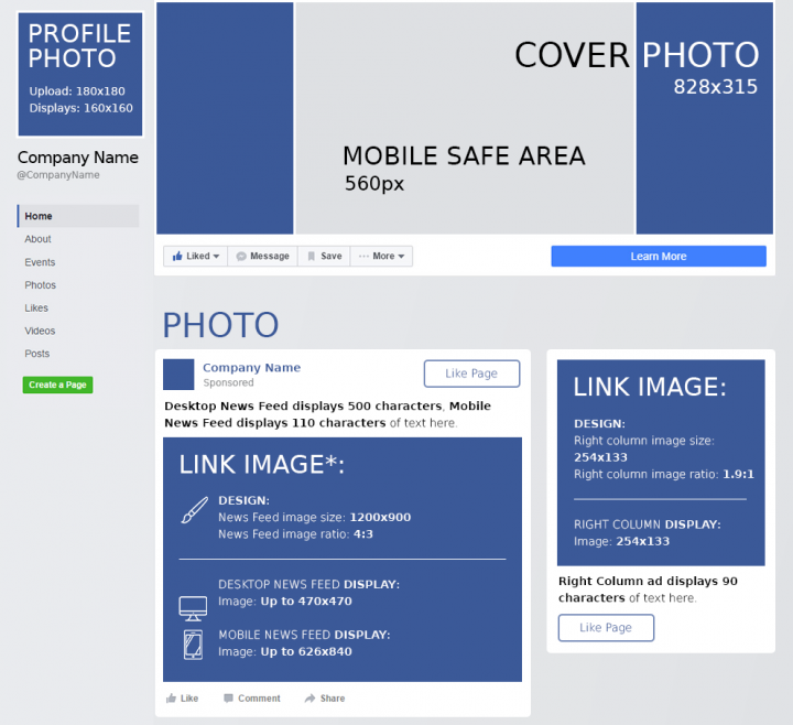 Facebook Cheat Sheet All Image Sizes Dimensions And Templates 2021 Facebook Cheat Sheet Facebook Cover Dimensions Facebook Image Sizes