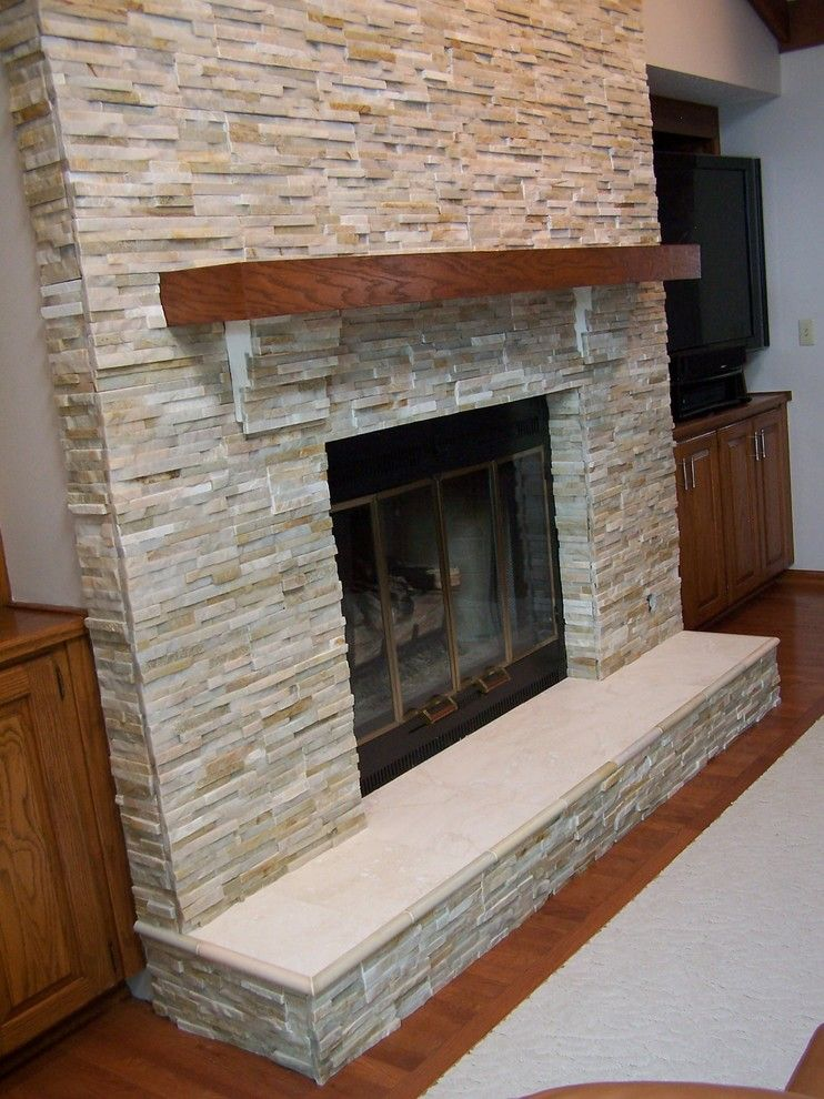 Fireplace archives home inspiration ideas house to - Stone fireplace surround ideas ...
