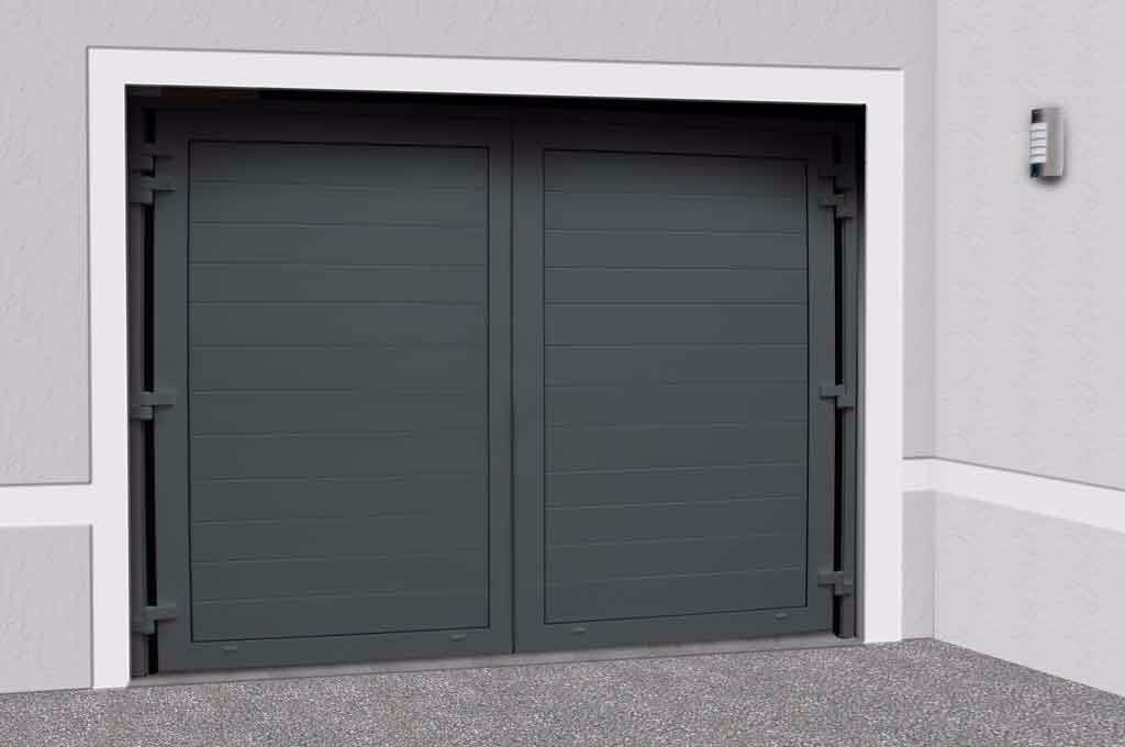 Image result for ral 7043 ral 7043 pinterest for Porte de garage a 3 battants